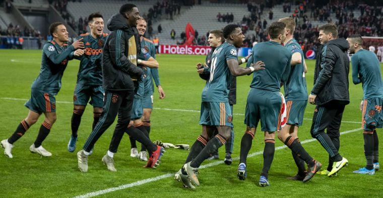 79 van de 181,5 punten: Ajax grotendeels verantwoordelijk voor Europese opmars