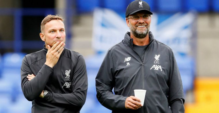 Klopp lyrisch over Liverpool-assistent Lijnders: 'In every inch een toptrainer'