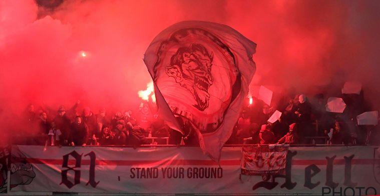 UEFA straft na wangedrag van Standard-fans: boete + mogelijk match zonder fans