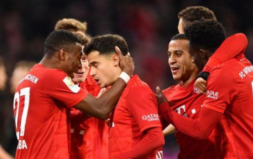 Afbeelding: Bayern dankt weergaloze Coutinho, Dortmund wint ruim inclusief goal Hazard
