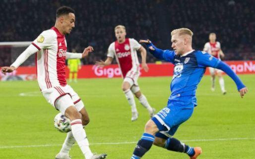 'Ajax start met Mazraoui op het middenveld en moet Promes nog steeds missen'