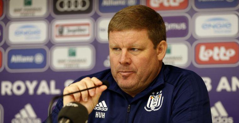 Vanhaezebrouck ziet 'oneerlijk' Anderlecht-bestuur: Zetten fans in het zak