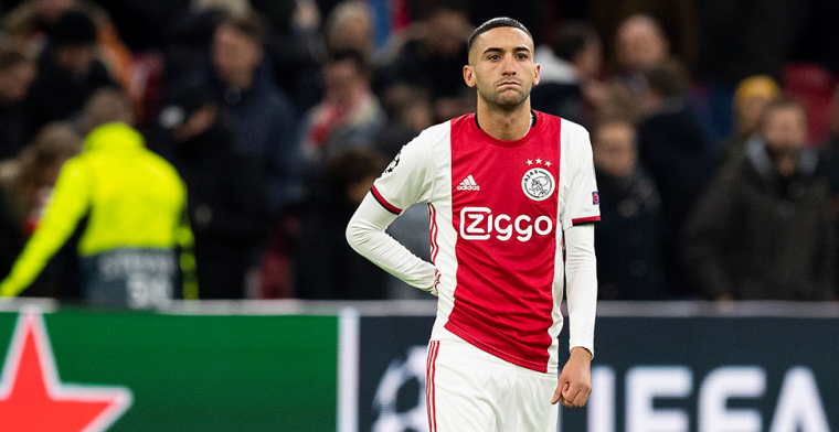 Perez ziet verkeerde 'schuldigen' bij Ajax: 'Ziyech had 40 procent balverlies'
