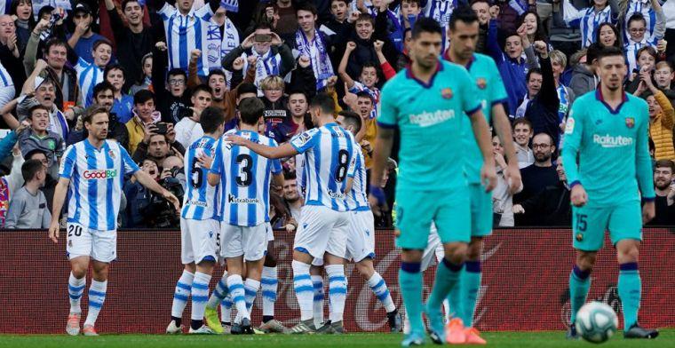 Ex-Willem II'er Isak treft FC Barcelona vier dagen voor El Clásico in het hart
