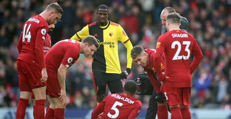 Liverpool worstelt en ziet Wijnaldum uitvallen, maar blijft soeverein in Engeland