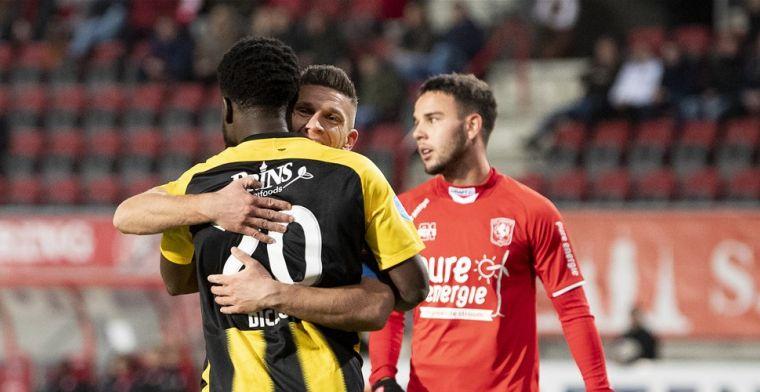 Vitesse rekent na rust af met FC Twente en wint weer eens na zes duels