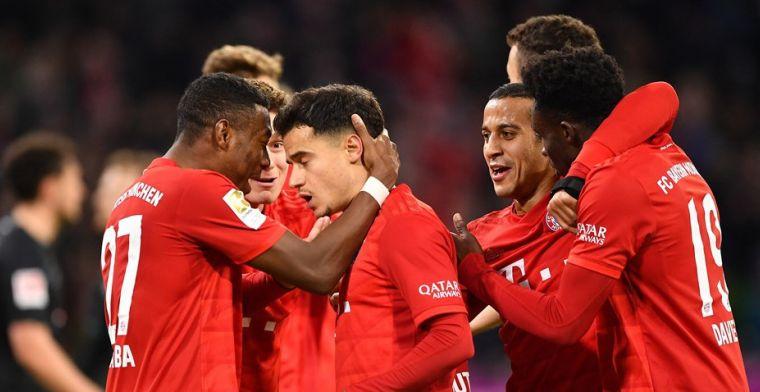 Bayern dankt weergaloze Coutinho, Dortmund wint ruim inclusief goal Hazard