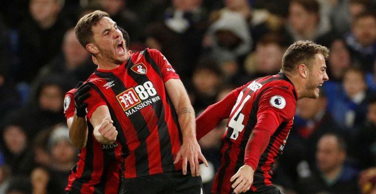 Leicester ziet Liverpool uitlopen, Bournemouth doet worstelend Chelsea pijn