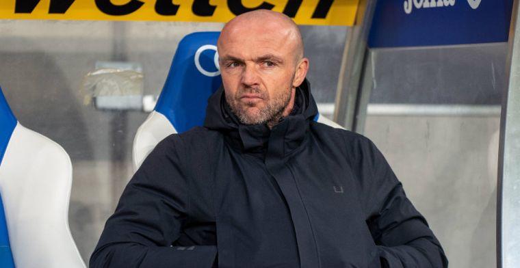 Schreuder wil versterkingen bij Hoffenheim: 'Het ontbreekt ons aan kwaliteit'