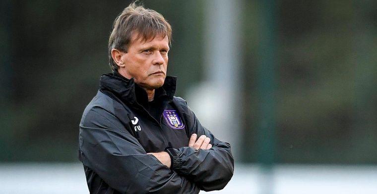 Anderlecht-coach Vercauteren geprikkeld: De brief neemt geen druk weg
