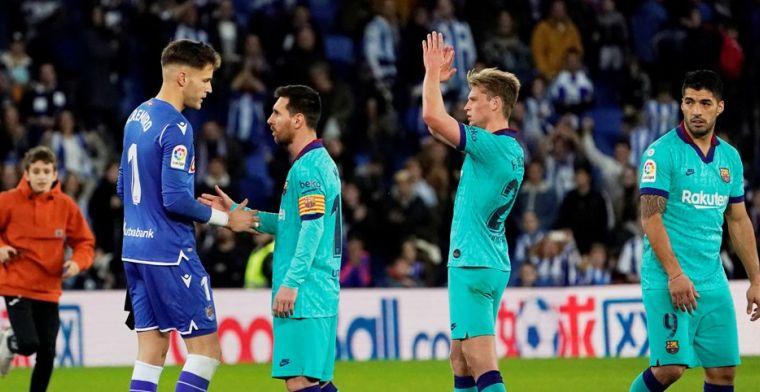 Frenkie de Jong stelt teleur bij Barça: 'Voor zo'n speler is dat onvergeeflijk'
