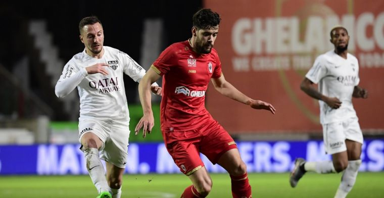 Refaelov verlost Antwerp tegen Eupen met knappe vrije trap