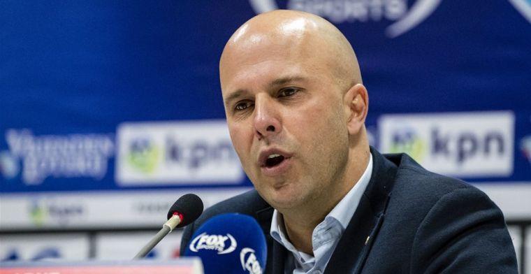 Slot: 'We hebben bij Ajax gezien hoe het kan gaan, wij kunnen dat niet opvangen'