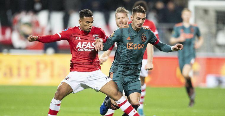 AZ maakt rampweek Ajax compleet met Boadu-goal in 90ste minuut