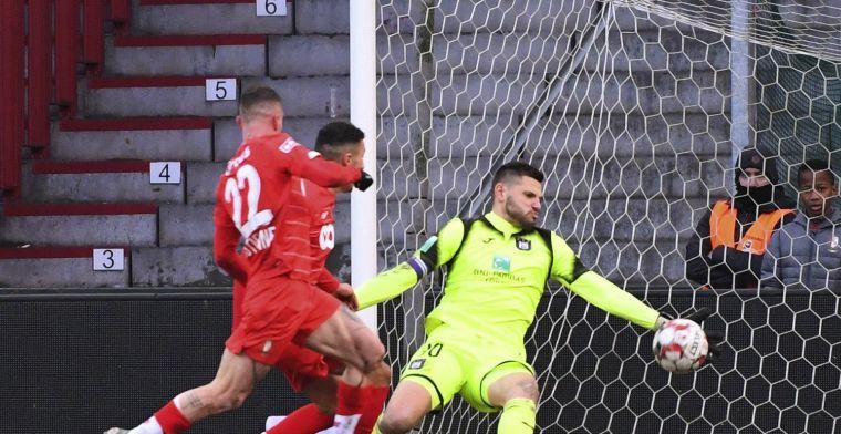 Van Crombrugge tevreden op Sclessin: Anderlecht is de mentale winnaar