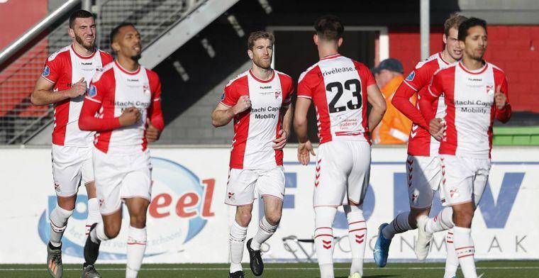 Fris FC Emmen loopt dankzij twee strafschoppen weg van de degradatiezone