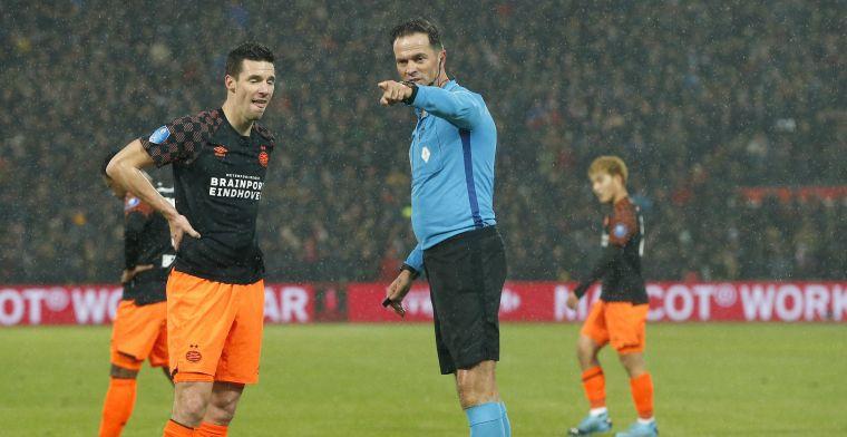 PSV baalt van VAR: 'Nijhuis zei dat ze het niet duidelijk konden zien, ofzo'