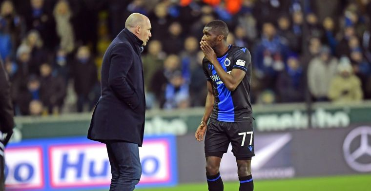 Clement heeft luxeprobleem bij Club Brugge: Chapeau aan de spelers