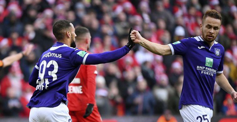 Standard geeft overwinning nog uit handen tegen matig Anderlecht