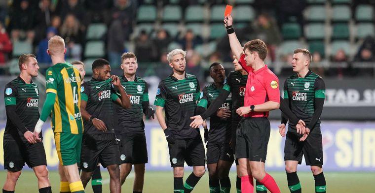 Update: KNVB besluit tot een wedstrijd schorsing naar aanleiding van rood Buijs