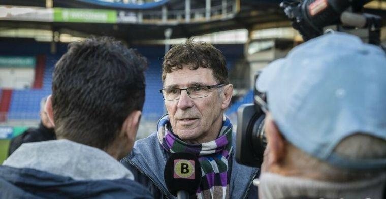 Van Hanegem sneert naar Van Hooijdonk: 'Hij kwam met Kazim-Richards, toch?'