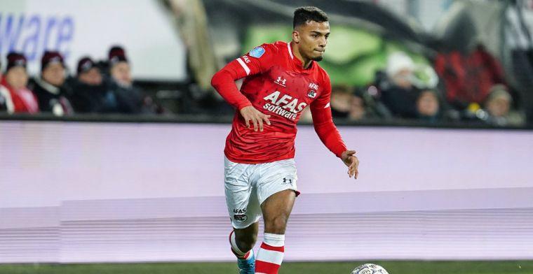 Wijndal gezien als vervanger Tagliafico bij Ajax: 'Niet aan mij, zit goed bij AZ'