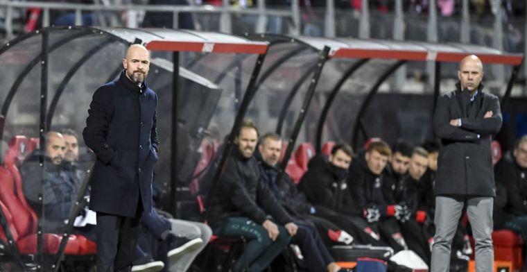Hoge pressie: Ajax zet goed druk, maar scoort ruime onvoldoende in laatste fase