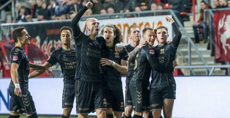 Grote verrassing in Enschede: Go Ahead wint in Grolsch Veste en bekert verder