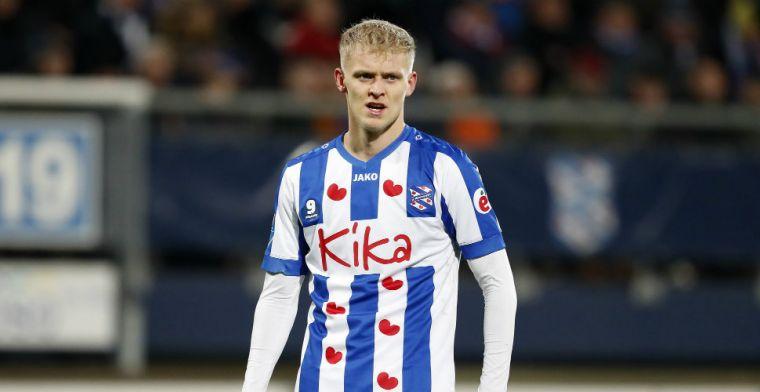 Heerenveen-spits moet duel met Heracles laten schieten: 'Will be back after break'
