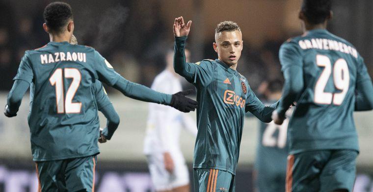 Elia verdedigt 'jong boy' Lang en laakt Ajax-captain Tadic: 'Het is niet eerlijk'