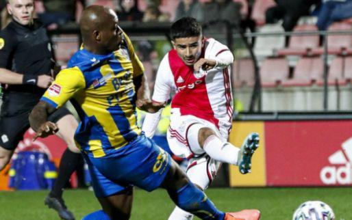 Afbeelding: Ünüvar (16) maakt eerste in betaald voetbal, spektakel bij Volendam-De Graafschap