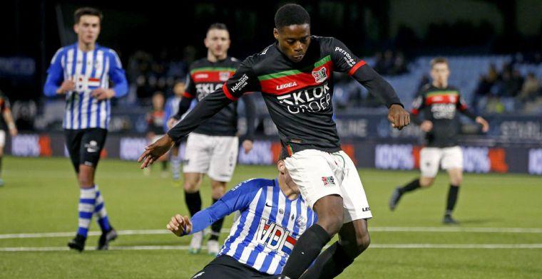 Kraay heeft nieuws over NEC-'diamant': Heel veel interesse van Eredivisie-clubs