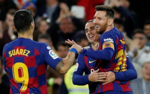 Afbeelding: Barcelona kent geen moeite met Alavés, Messi imponeert met parel