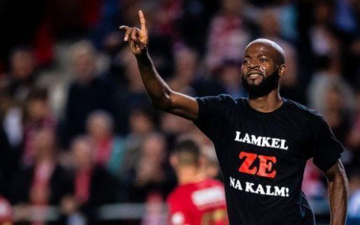 """Afbeelding: Lamkel Zé krijgt steun bij Antwerp: """"Ga niet mee in stroom van negativiteit"""""""