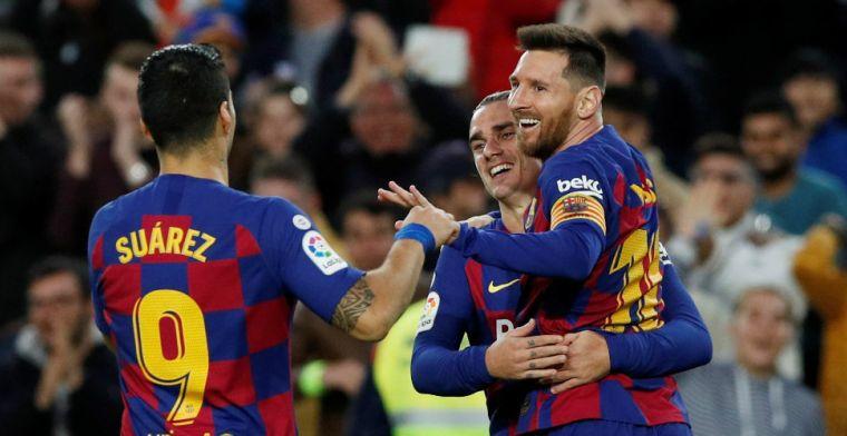 Barcelona kent geen moeite met Alavés, Messi imponeert met parel