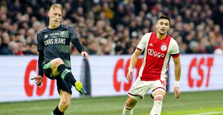 Immers laakt 'SM-tweet' Van Zweden tijdens Ajax-ADO: 'Oppassen met wat je zegt'