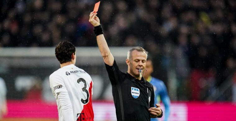 Bizot en Hoogma moeten na winterstop toekijken, KNVB straft spelers na rood