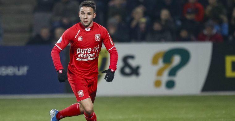 FC Twente kan in februari pas weer een beroep doen op 'rode' Verdonk
