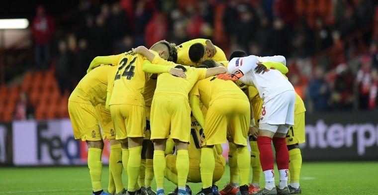 """Standard trekt lessen uit nederlaag: """"Tegen KAA Gent opnieuw mentaliteit"""""""