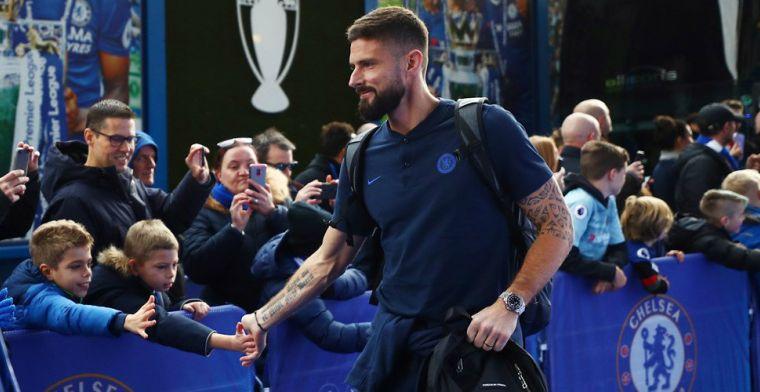 'Gerrard zet hoog in tijdens transferwinter: Giroud is al benaderd door Schotten'