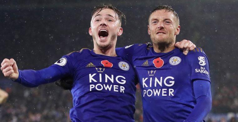 'United wil opnieuw shoppen bij Leicester en is bereid om 85 miljoen te betalen'