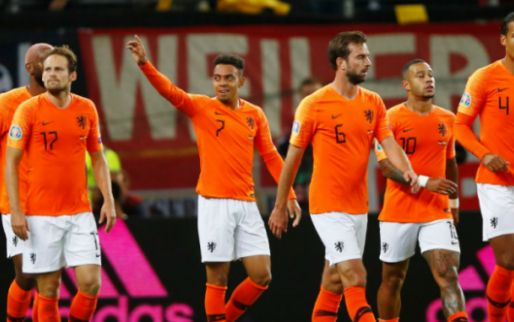 Afbeelding: Malen blikt terug op Oranje-debuut tegen Duitsland: 'De weg kwijt na wedstrijd'