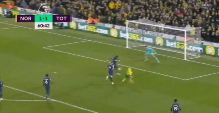 Pijnlijk bij Tottenham: Aurier en Alderweireld met eigen doelpunt