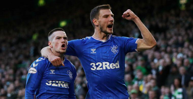 Rangers gooit Schotse titelstrijd open met zege op Celtic in Old Firm