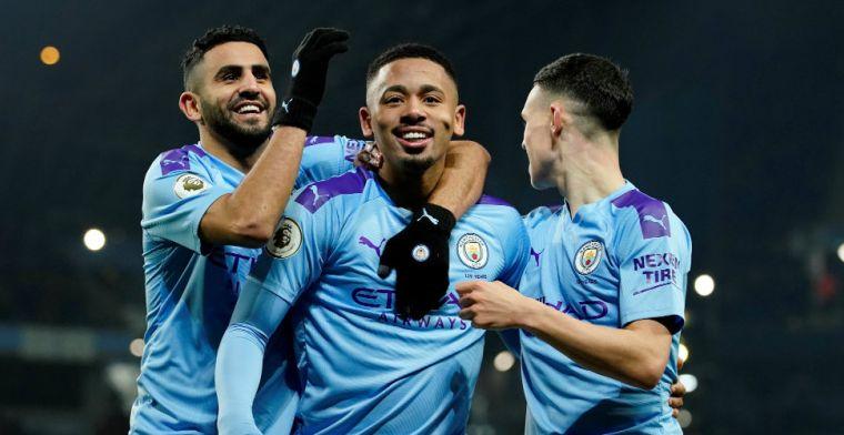 Jesus grote man bij overwinning City, West Ham makkelijk voorbij Bournemouth