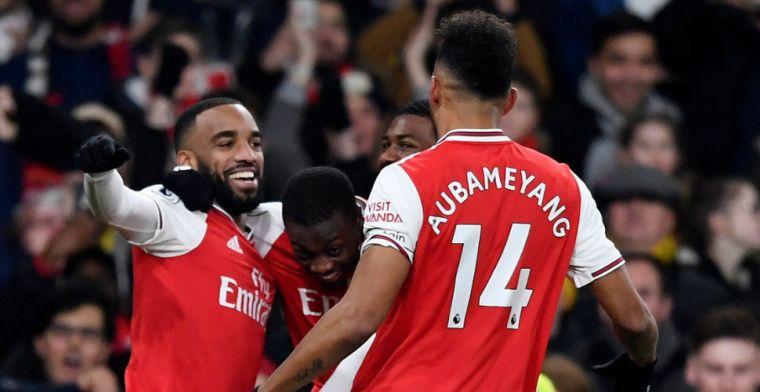 Arsenal boekt comfortabele overwinning op inspiratieloos United, Pépé blinkt uit