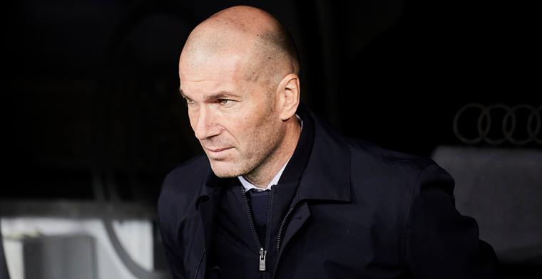 Zidane ziet prijzendroogte niet als falen: 'Is de rest dan stom? Dat denk ik niet'