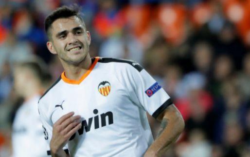 Afbeelding: Gómez matchwinner voor Valencia tegen laagvlieger Eibar