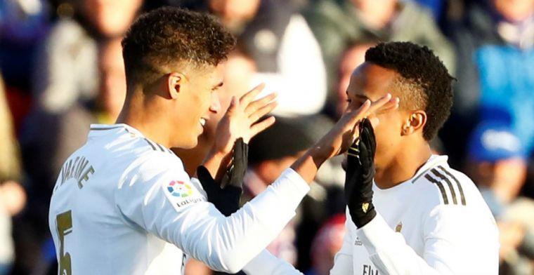 Ajax-tegenstander Getafe verliest derby van Real Madrid, Varane eist hoofdrol op