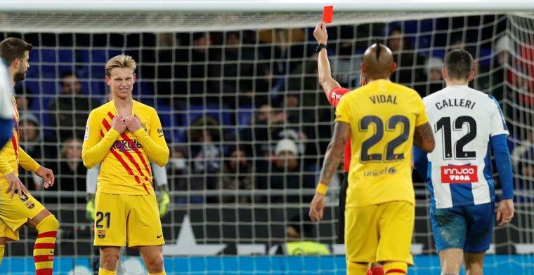 FC Barcelona laat twee dure punten liggen, Real Madrid komt op gelijke hoogte